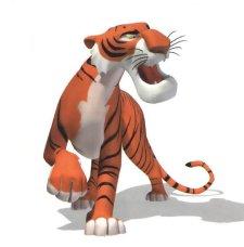 откуда у тигра полоски