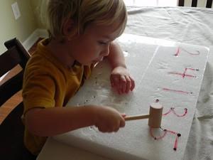 Развивающая играа для мальчиков 3-4 лет