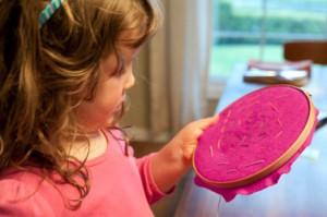 Вышивание для детей