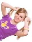 Модные хвостики для девочек