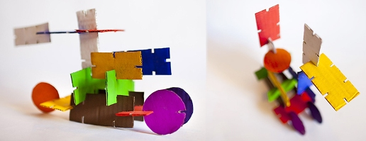 Необычный детский конструктор из картона своими руками