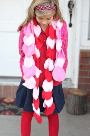 Необычный шарф для девочки