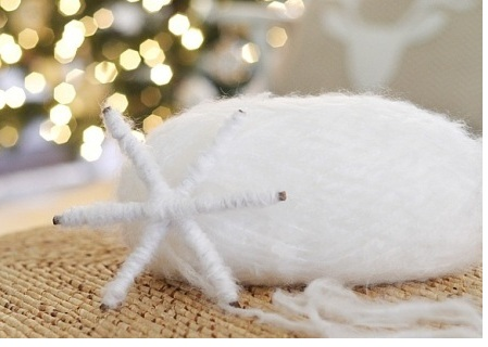 Новогодние поделки - снежинка