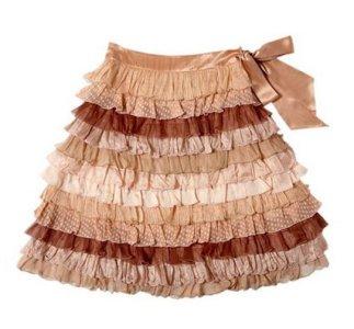 Сшить пышную юбку с воланами