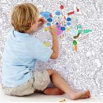 Обои раскраски для детской