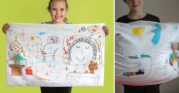 Как нарисовать бабушке подарок