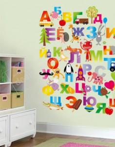как оформить стены в детской