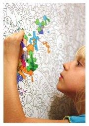 Детские обои-раскраски